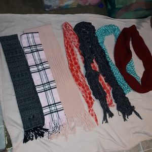 Accessories - 7 Scarves for $10